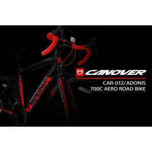 CANOVER(カノーバー) CAR-012 ADONIS(アドニス)|700C型14段変速ロードバイク|jitenshaproshop|04