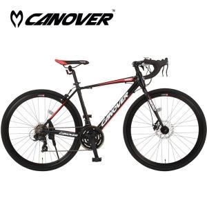 CANOVER(カノーバー) CAR-014-DC NERO(ネロ) 700C型21段変速ロードバイク jitenshaproshop