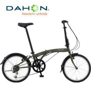 DAHON(ダホン) SUV D6(エスユーヴィー D6)|2018年度インターナショナルモデル|20インチ6段変速折りたたみ自転車