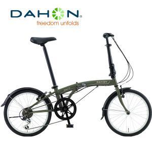 【完全組立】DAHON(ダホン) SUV D6(エスユーヴィー D6)|2019年度インターナショナルモデル|20インチ6段変速折りたたみ自転車
