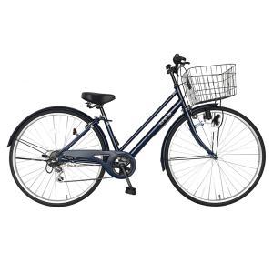 自転車 27インチ ママチャリ 激安 6段変速...の詳細画像1