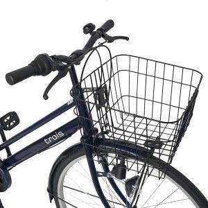 自転車 27インチ ママチャリ 激安 6段変速...の詳細画像2