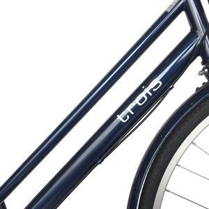 自転車 27インチ ママチャリ 激安 6段変速...の詳細画像4