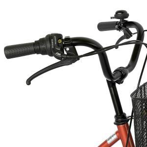 ママチャリ 26インチ 自転車 変速 6段ギア...の詳細画像3