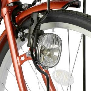 ママチャリ 26インチ 自転車 変速 6段ギア...の詳細画像5