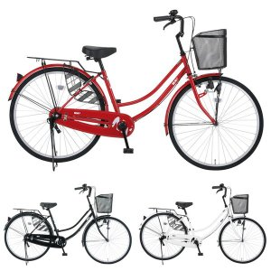 【Xmas特典付】NANA ナナ 26インチ 変速なし ダイナモライト NA26/ だいわ自転車 ファミリーサイクル 【大サイズ】|jitensya-ousama