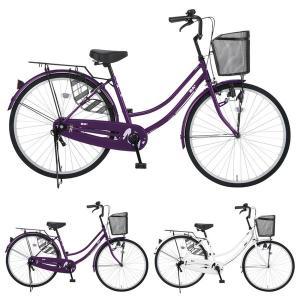【Xmas特典付】NANA ナナ 27インチ 変速なし ダイナモライト NA27/ だいわ自転車 ファミリーサイクル 【大サイズ】|jitensya-ousama