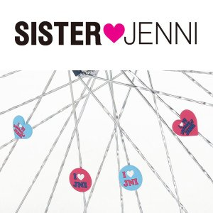 シスタージェニィ スポデコ 4個入り / スポークアクセサリー SISTER JENNI ダイワサイクル|jitensya-ousama