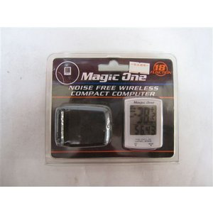 マジックワン ワイヤレスサイクルコンピューター Magic One MG-DCL18 自転車 パーツ ((アウトレット(2品限り))) jitensya-ousama