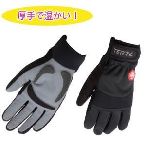 TERRY フルフィンガー サーマルウィンドストッパー レディース グローブ / テリー サイクルウェア 自転車パーツ jitensya-ousama