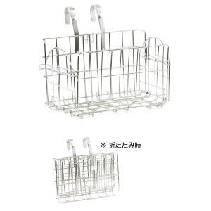 リンエイ 折りたたみフロントバスケット SUISUI用  BZ-03|jitensyaclub