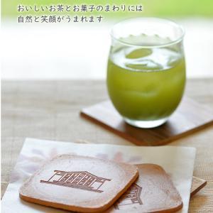 明日館緑茶&松崎煎餅セット 静岡県三島市 勝又苑 無農薬 jiyu