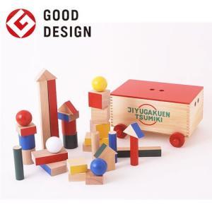 木のおもちゃ 積み木 学園つみき 2歳から8歳 日本製 遠藤新 フランクロイドライト|jiyu