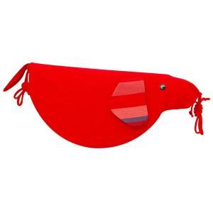 犬のおもちゃ【キックトーイ いぬ(赤)】おきあがりこぼし 出産祝 お誕生祝 グッド・トイ|jiyu