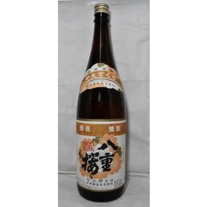 八重桜 純米焼酎 25度1800ml|jizake-i