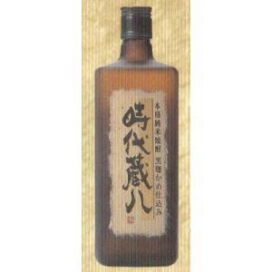 時代蔵八 米焼酎 黒麹かめ仕込み 25度720ml|jizake-i