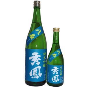日本酒  秀鳳 純米吟醸八反 生原酒 1800ml|jizake-i