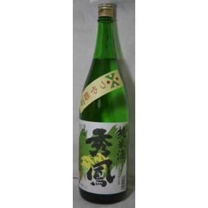 日本酒 秀鳳 つや姫 純米酒 1800ml|jizake-i