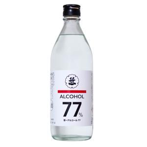 スピリッツ 笹一アルコール77 500ml