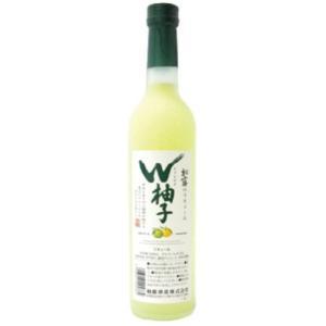 リキュール 柏露 W柚子 500ml|jizake-i