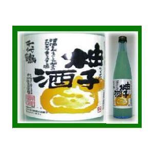 リキュール 千代鶴 柚子酒 500ml|jizake-i