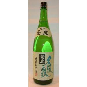 日本酒 越乃景虎 名水仕込 特別純米酒 1800ml|jizake-i