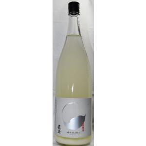 日本酒 真澄 純米吟醸うすにごり 1800ml|jizake-i