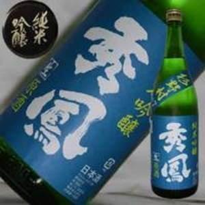 日本酒 秀鳳 純米吟醸 山田錦 生原酒 1800ml |jizake-i