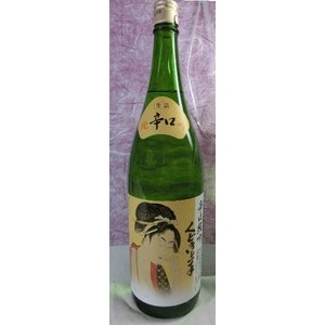 日本酒 くどき上手 純米吟醸 辛口 生詰 1800ml