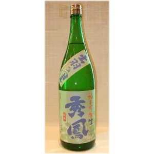 日本酒 秀鳳 純米吟醸 出羽の里 生原酒 1800ml|jizake-i