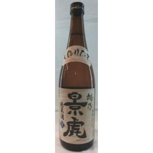 日本酒 越乃景虎 純米しぼりたて生 720ml|jizake-i