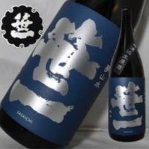 日本酒 笹一 夢山水純米無濾過生原酒 1800ml|jizake-i