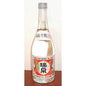 瑞泉 黒麹・全麹仕込み 25度 720ml|jizake-i