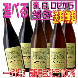 五一ワイン 信州桔梗ケ原 エコノミー 1800ml ×6本 ワインセット 1ケース 国産 赤ワイン 白ワイン ロゼワイン wine set...