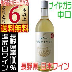 五一ワイン 塩尻ナイヤガラ 白ワイン 720ml 中口 信州 長野県 よりどり6本以上送料無料