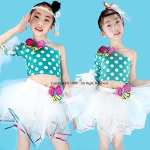 商品番号:L2-dance223 商品説明:ダンス衣装 カラー:写真通り セット内容: 女の子:トッ...
