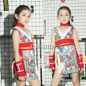 商品番号:L2-dance293 カラー:写真通り セット内容:ワンピース、パンツ、腕カバー モデル...