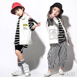商品番号:L2-dance301 セット内容:ベスト/ ブラックTシャツ/ ホワイトTシャツ/ しま...