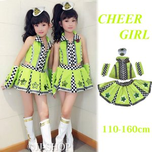 商品番号:L2-dance355 セット内容: トップス+スカート+髪飾り+腕飾り*2 カラー:写真...