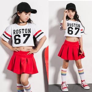 商品番号:L2-dance74 商品説明:ダンス衣装 カラー:写真通り セット内容:2点セット:トッ...