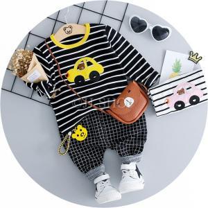 商品番号:L2-kids16 セット内容: 2点セット:トップス+パンツ カラー:ホワイト、ブラック...