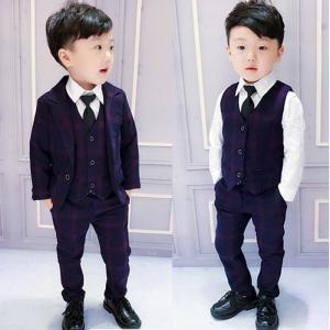商品番号:L2-suit17 セット内容: 三点セット:ジャケット、ベスト、ズボン カラー:写真通り...