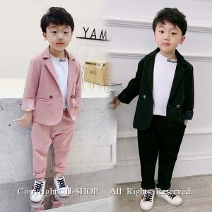 商品番号:L2-suit72 セット内容:2点セット(ジャケット×長ズボン) カラー:ピンク、ブラッ...