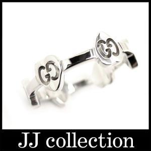 GGラブスタッカブルリング(指輪)表記サイズ10(約10号) ハートモチーフ750WG(K18WG/18K/ホワイトゴールド)|jjcollection2008