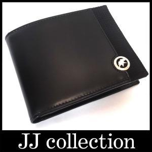 ハンティング・ワールド 2つ折財布ブラックレザーSANDUKUDU 526220ビジネスシーンにも|jjcollection2008