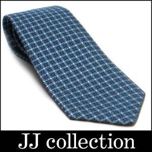 シルクネクタイ シルク100% ブルー×ホワイト [fu]|jjcollection2008