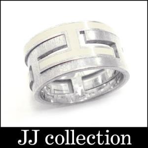HERMES エルメス ムーブアッシュリング 指輪 シルバー925 Ag925 アイボリー 表記サイズ51 約11号 jjcollection2008