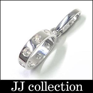 Cartier カルティエ フルダイヤ ベビーラブ チャーム K18WG(750 18K)ホワイトゴールド|jjcollection2008