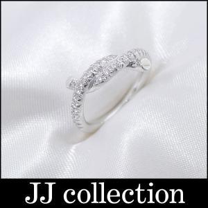 Cartier カルティエ アントルラセ ダイヤ リング K18WG(750 18K) ホワイトゴールド 表記サイズ:46 指輪中古|jjcollection2008