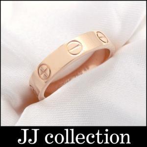 Cartier カルティエ ラブリング 表記サイズ:48 K18PG(750) ピンクゴールド 指輪|jjcollection2008